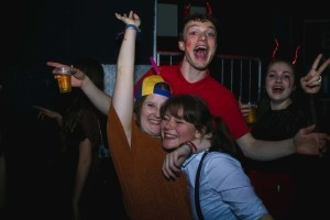 voorbeeldfoto Labyrint party: Horse in the hall, it's Carnaval